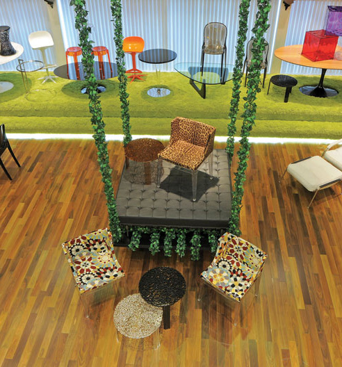 Projeto Interiores Showroom Kartell